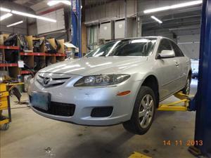 Mazda Before Prestige Auto Body Photography
