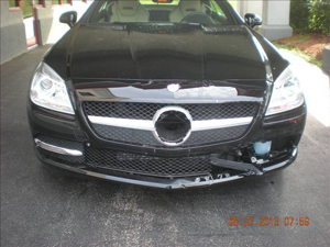 Mercedez Before Prestige Auto Body Photography