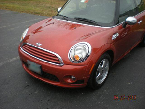 Mini Cooper Before Prestige Auto Body Photography