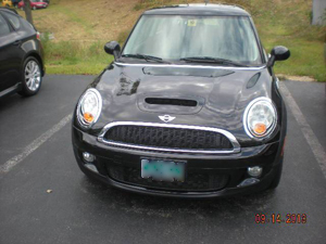 Mini Cooper After Prestige Auto Body Photograph