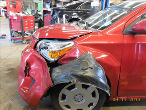 Scion Before Prestige Auto Body Photograph